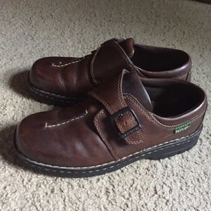 Wastland Women shoes loafer size 9W brown leather